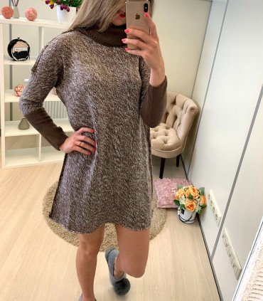 Megzta suknelė - tunika